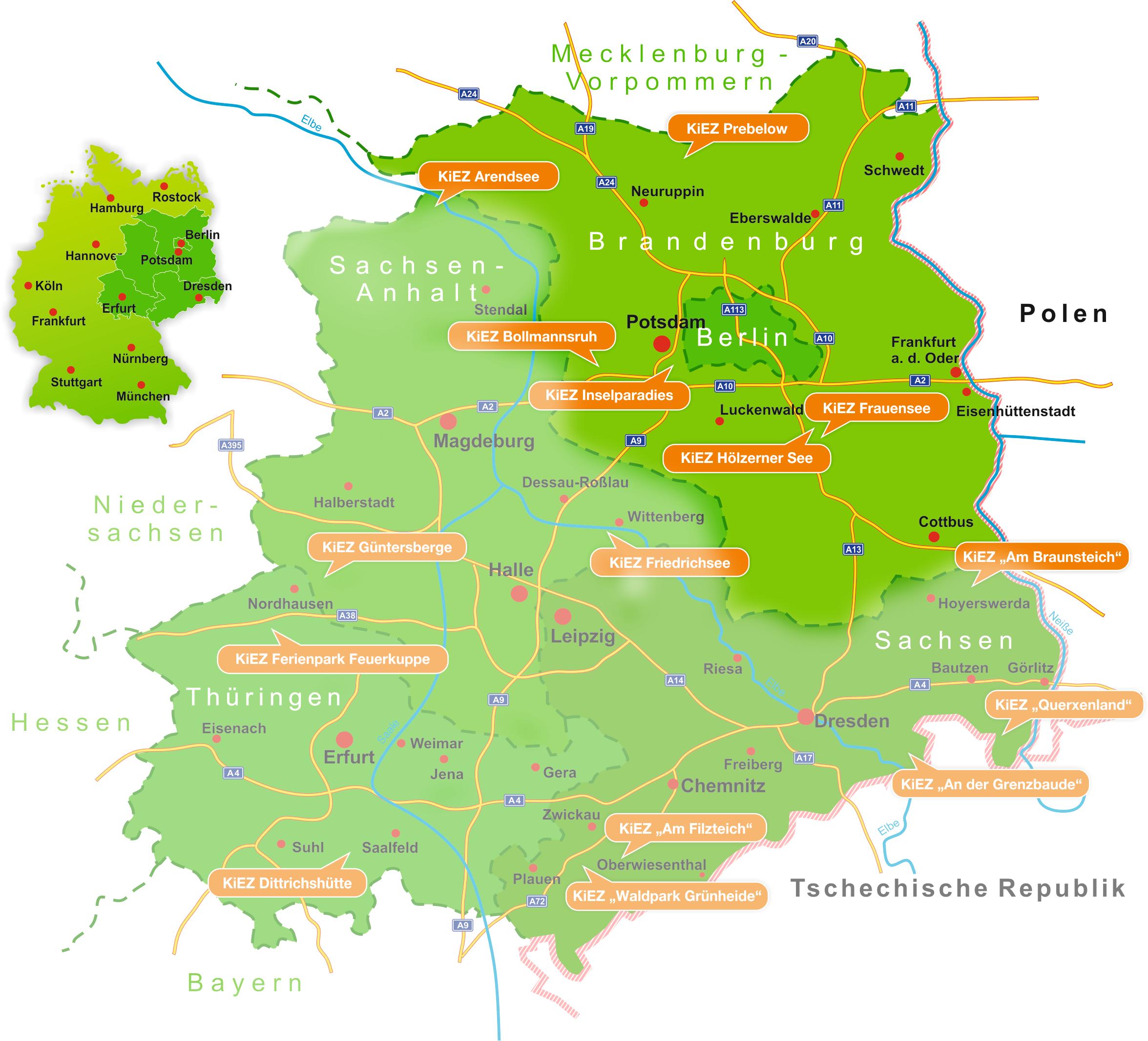 Land Brandenburg Karte.Landesverband Kiez Brandenburg E V Kiez In Brandenburg